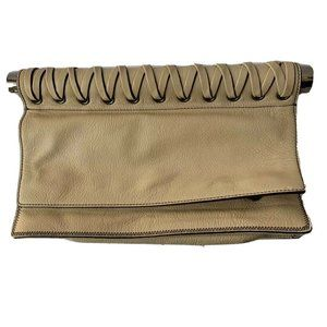 orYANY Bags - Oryany Womens Clutch Handbag Sand Snap Buttons Zip
